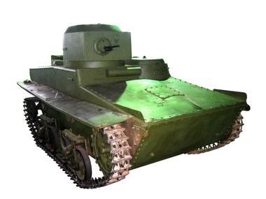 Легкий плавающий танк т 37а