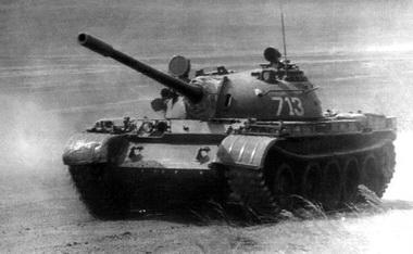 Танк т 55 1958 г созданный на базе танка т