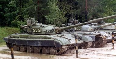 """Танкисты батальона """"Зверобой"""" провели тренировку по боевой готовности в районе АТО - Цензор.НЕТ 4525"""