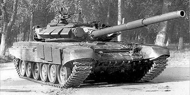 Tank T-72BM 1989 delivered to all republics of the USSR